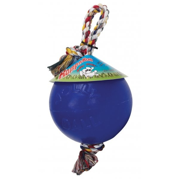 Romp N Roll Ball For Dogs / Size Blue/6 In.
