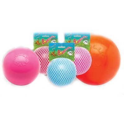 Dog Bounce N Play Vanilla Ball / Color Orange/6 In.