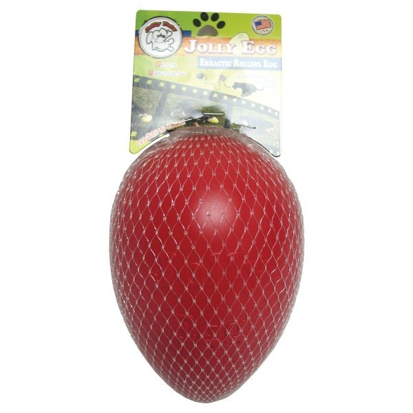 Jolly Egg For Dogs / Size 8 In / Red
