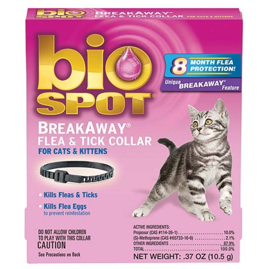 Biospot Break Away Flea And Tick Collar For Cats