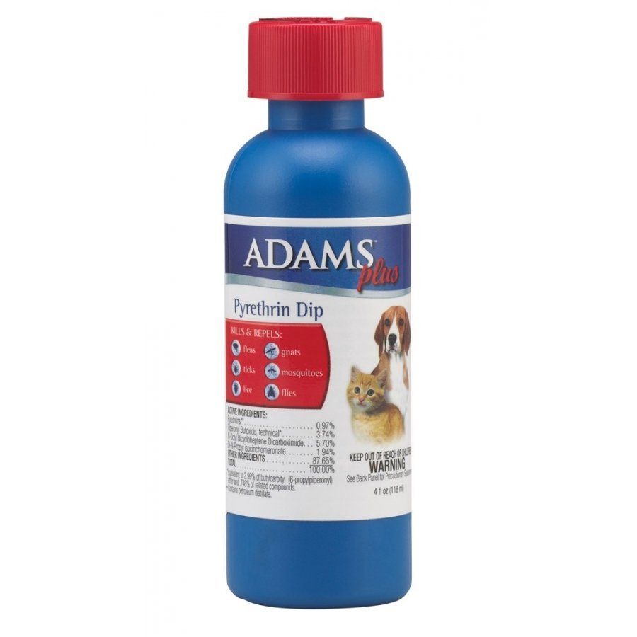 Adams Plus Pyrethrin Dip For Pets 4 Oz Dog Products