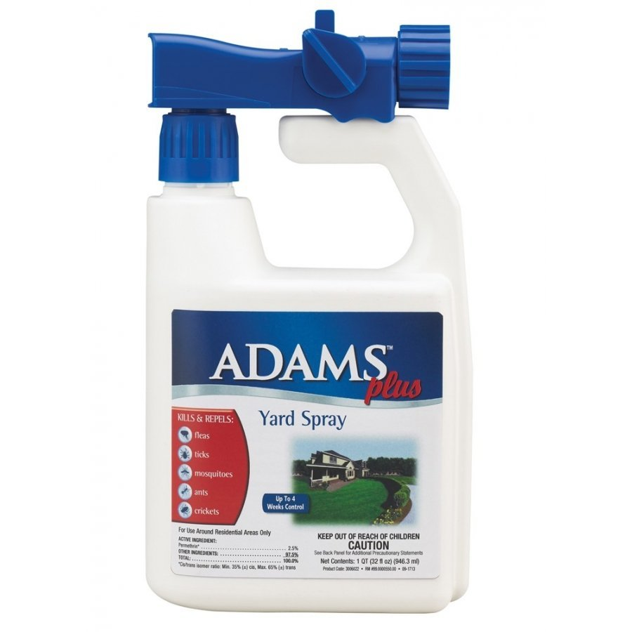 Adams Plus Yard Spray Flea And Tick Repellant 32 Oz