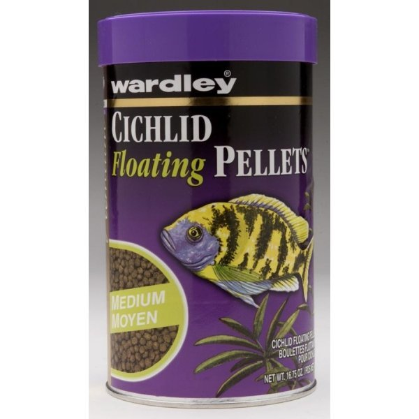Cichlid Floating Pellets / Size 16.75 Oz