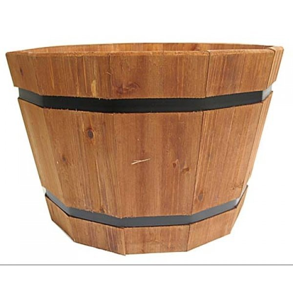 Barrel Tub - Heartwood / 20 in. Best Price