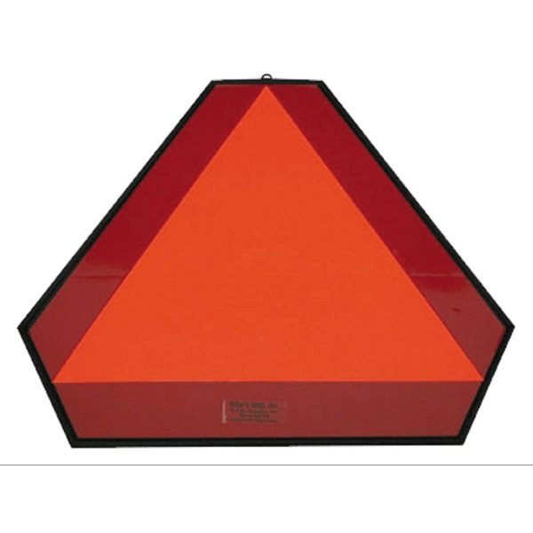 Slow Moving Vehicle Regular Plastic Sign Best Price