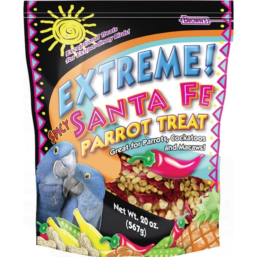 Santa Fe Spicy Parrot Treats 20 Oz.