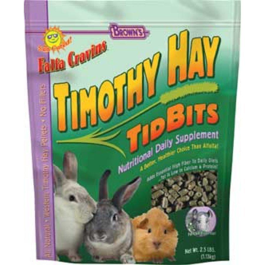 Timothy Hay Tidbits Rabbit Treat 2.5 Lbs