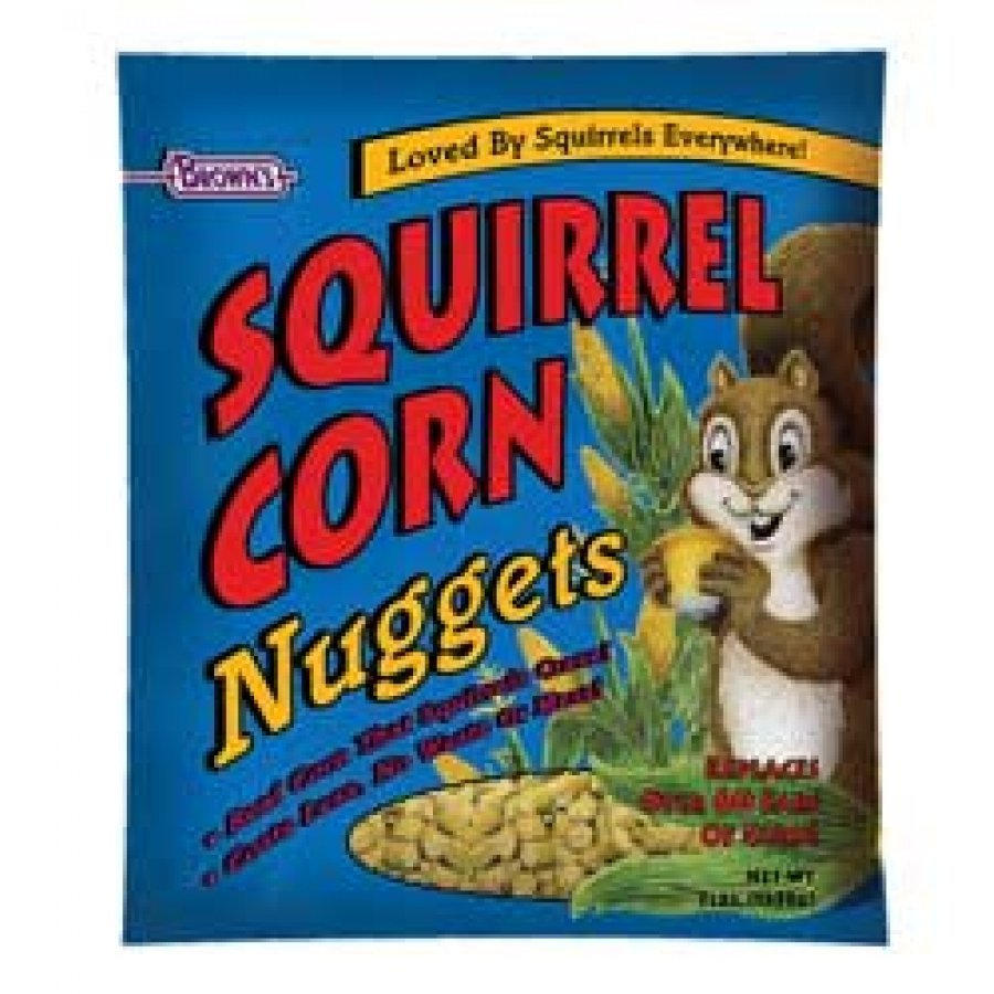 Squirrel Corn Nuggets Squirrel Food 5 Lb.