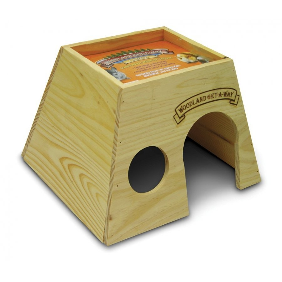 Woodland Get A Way Pet Playhouse / Size Large