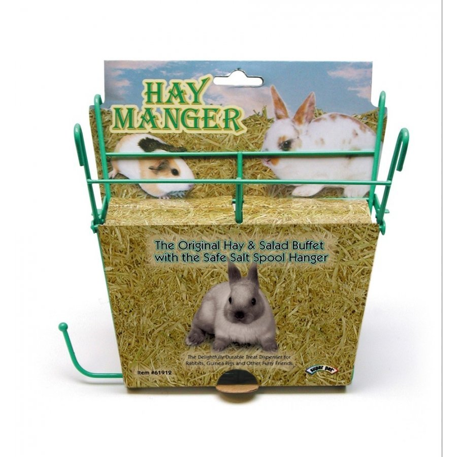 Hay Manger With Salt Hanger For Small Animals