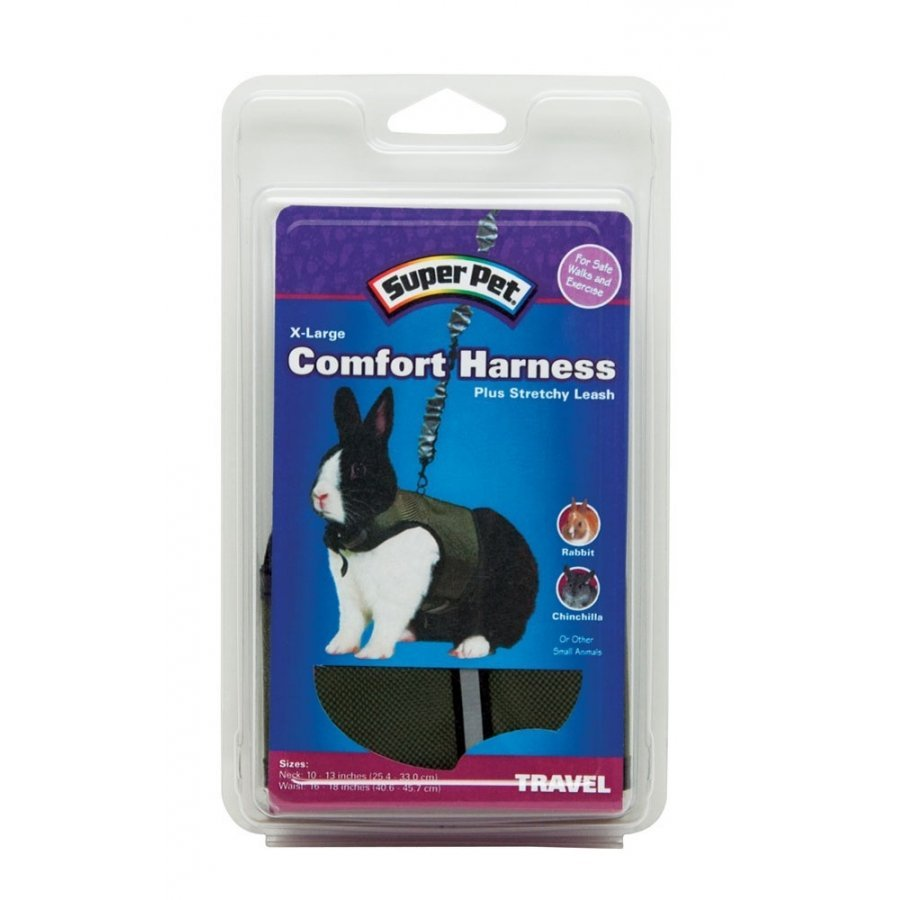 Rabbit Comfort Harness With Lead