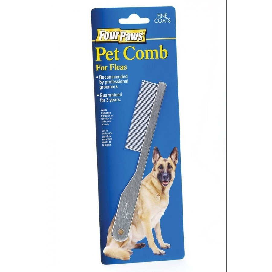 Fine Flea Comb For Dogs With Average Coats