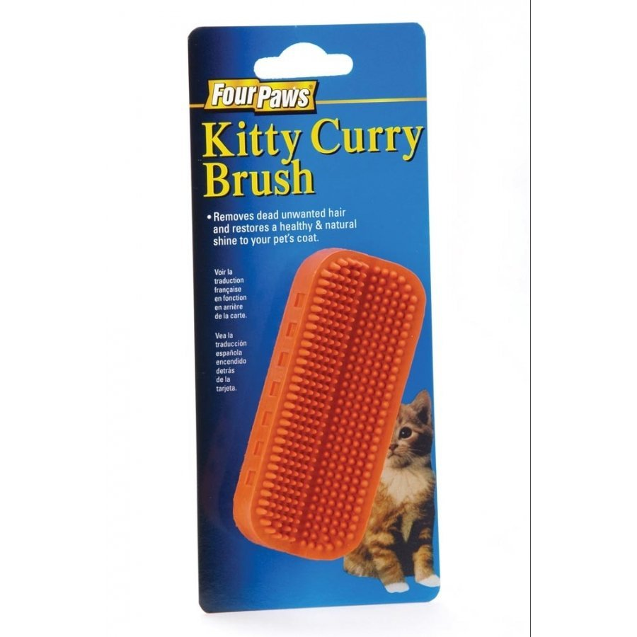 Kitty Curry Brush For Cats
