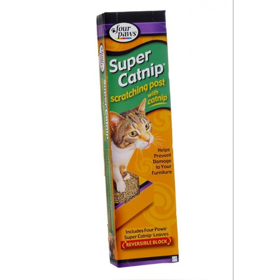 Four Paws Catnip Scratching Post / Width 5 In.