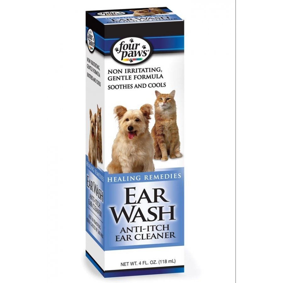 Ear Wash Anti Itch Cleaner For Pets 4 Oz.
