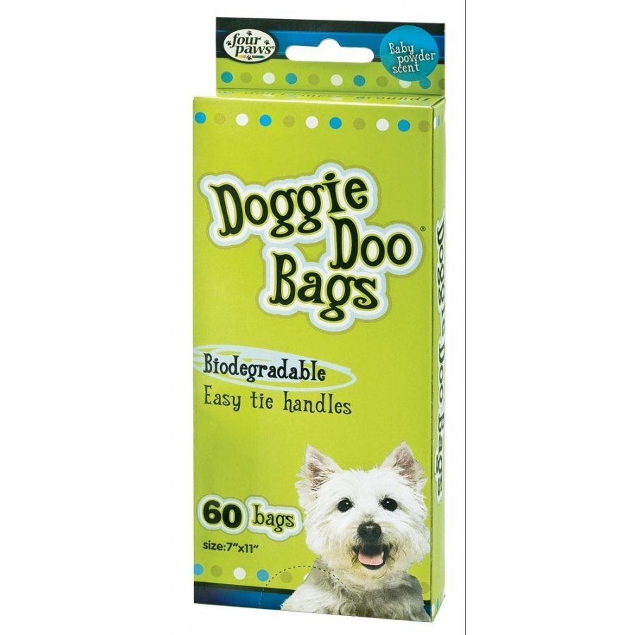 Doggie Doo Bags By Four Paws / Size 60 Count