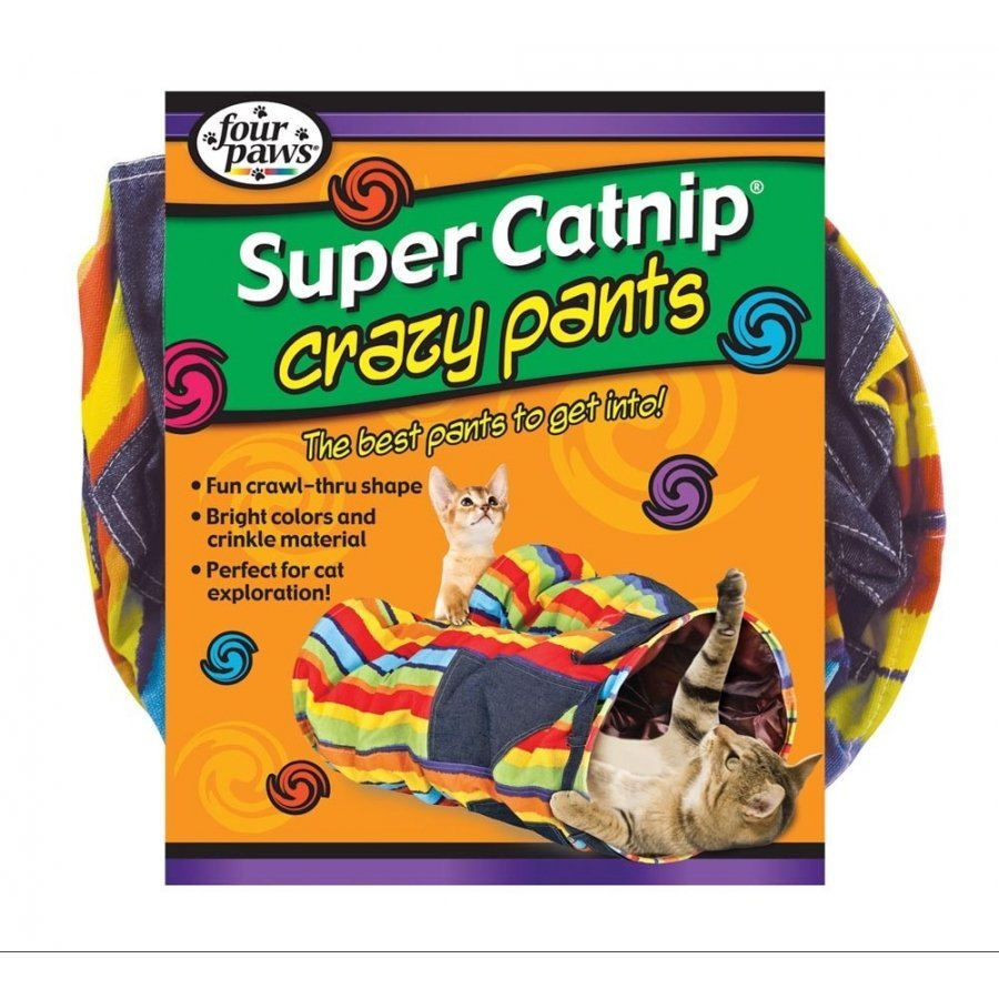 Crazy Pants Catnip Cat Tunnel