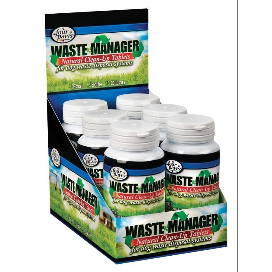 Waste Manager for Dog Waste / Type (Enzyme Tablets)
