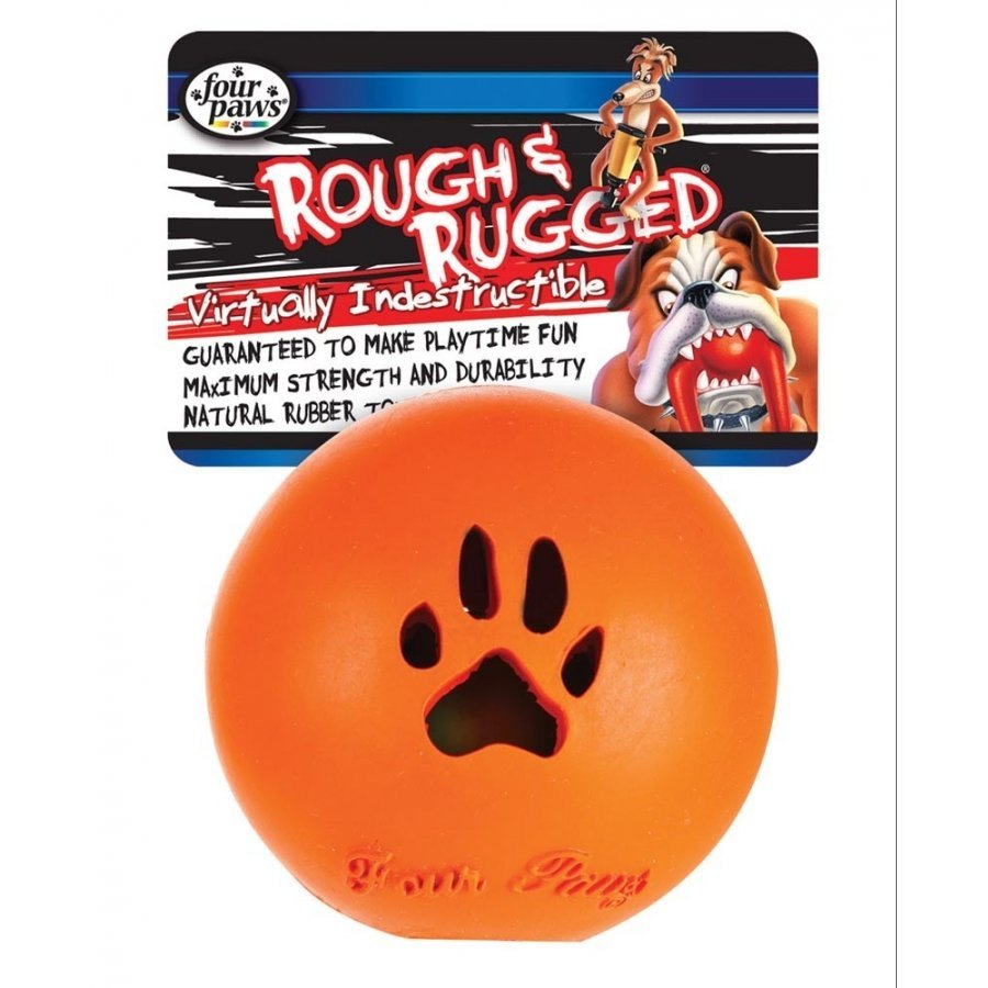 Rough N Rugged Dog Ball In Ball / Size Large