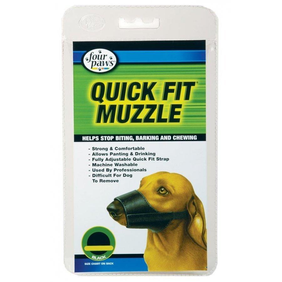 Quick Fit Dog Muzzle / Size 4
