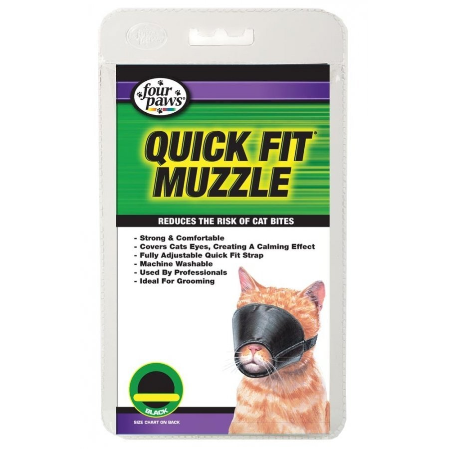 Quick Fit Muzzle For Cats / Size Medium
