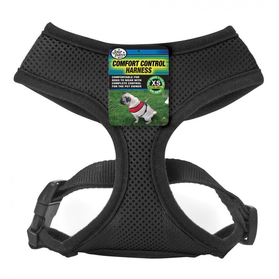 Comfort Control Dog Harness / Size Xsmall / Black