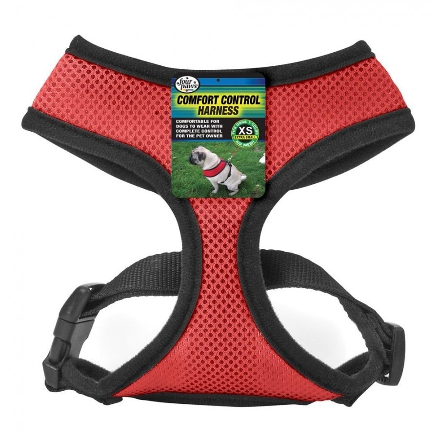 Comfort Control Dog Harness / Size (XSmall / Red)