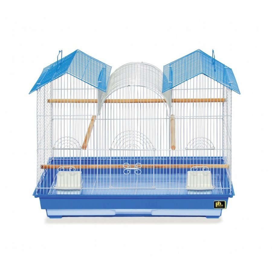 Parakeet Triple Roof Bird Cage Case Of 2