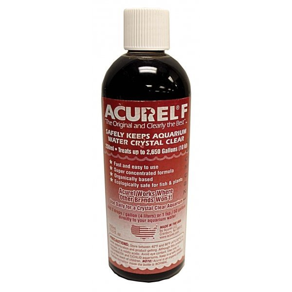 Acurel F Water Clarifier / Size (250 ml) Best Price