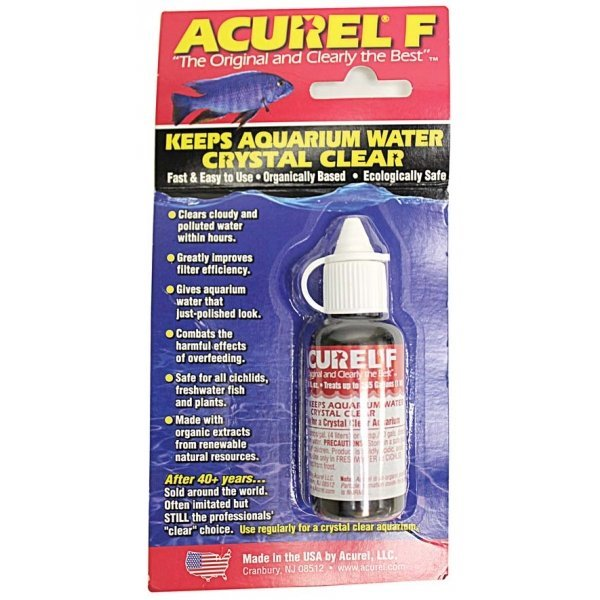 Acurel F Water Clarifier / Size (25 ml) Best Price