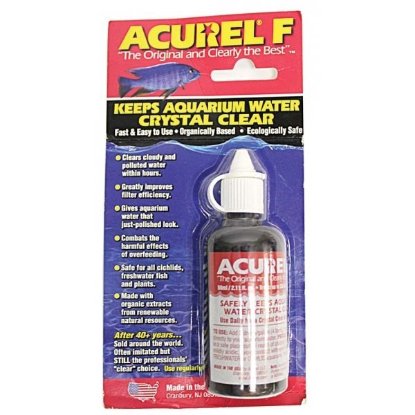 Acurel F Water Clarifier / Size (50 ml) Best Price