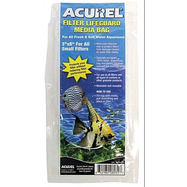 Acurel Filter Drawstring Bag / Size 3 X 8 In.