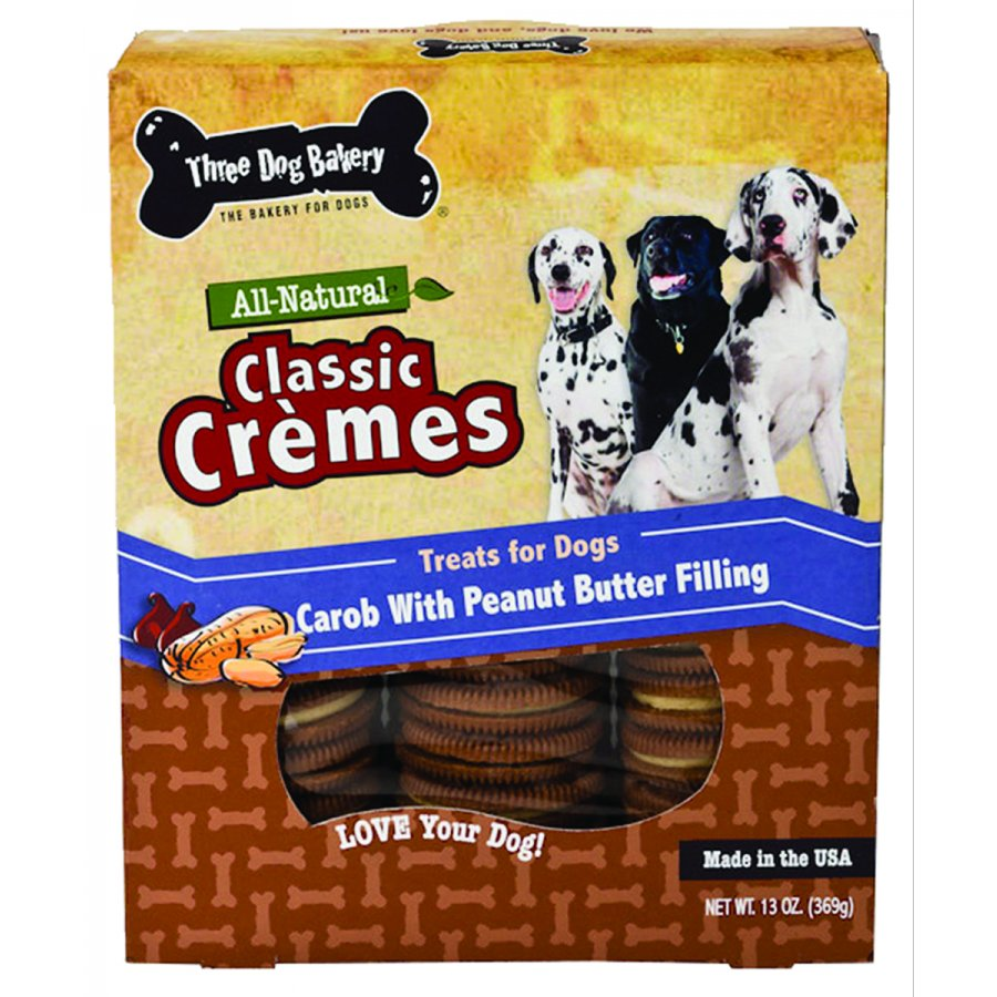 Classic Cremes Dog Cookies 13oz. / Flavor Carob / Peanut Butter