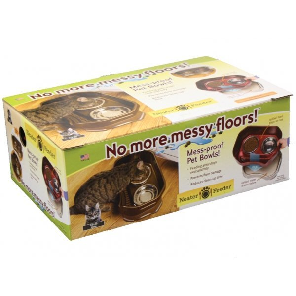 Neater Feeder Cat - Cranberry Best Price