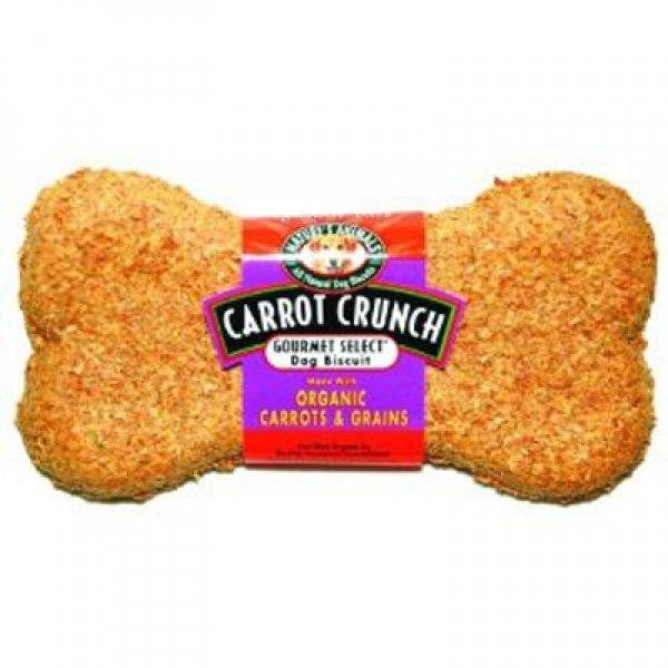Organic Carrot Dog Biscuit 4 Inch Case Of 48