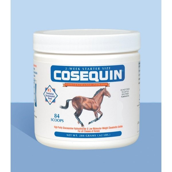 Cosequin Equine Powder Concentrate / Size 280 Gm 84 Scoops