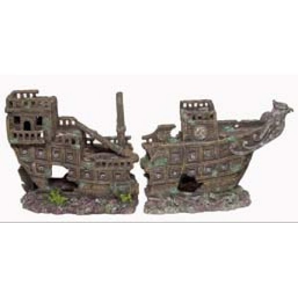 2 Part Galleon Ship for Aquariums - Large Best Price