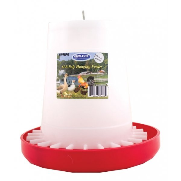 Plastic poultry feeder 6 lb gregrobert for Automatic fish feeder walmart