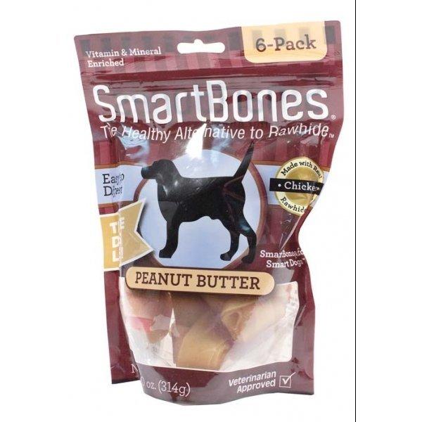 Smartbones Peanut Butter / Size Small / 6 Pk.
