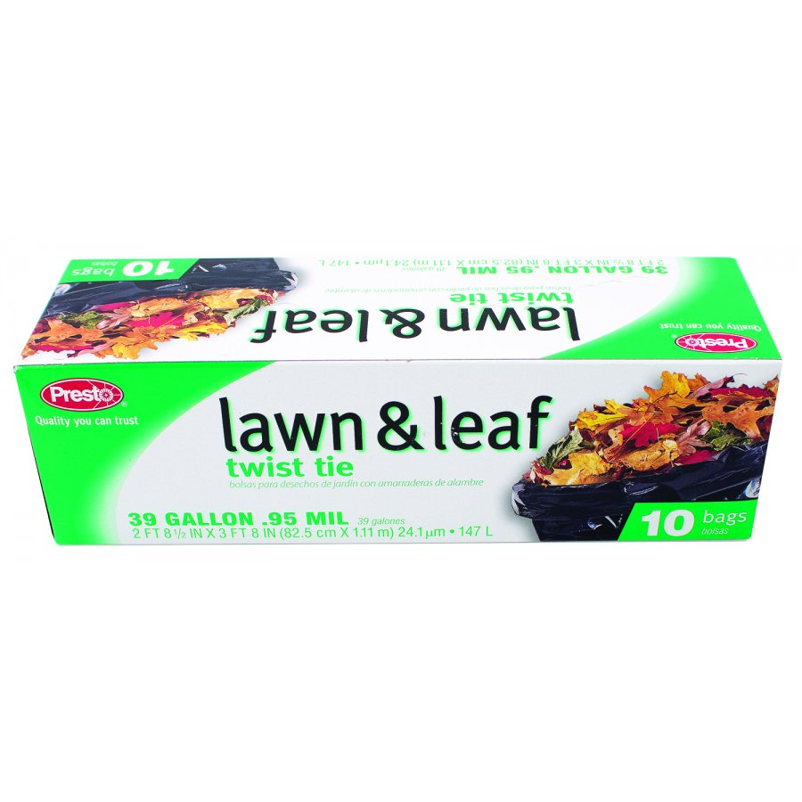 Lawn and Leaf Twist Tie Bags - 10 pk / 39 gallon Best Price