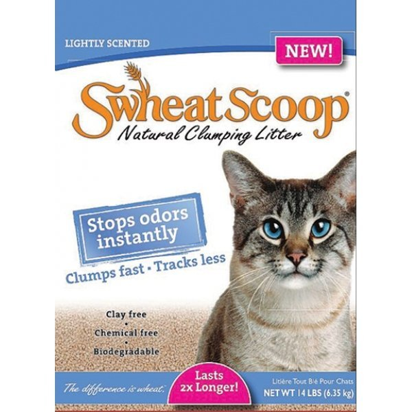 Swheat Scoop Lightly Scented Litter 14 Lbs. Case Of 4