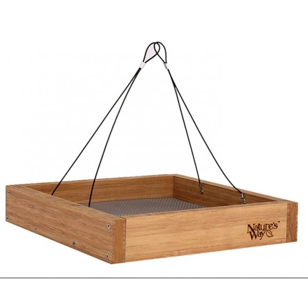 Bamboo Hanging Platform Feeder Best Price