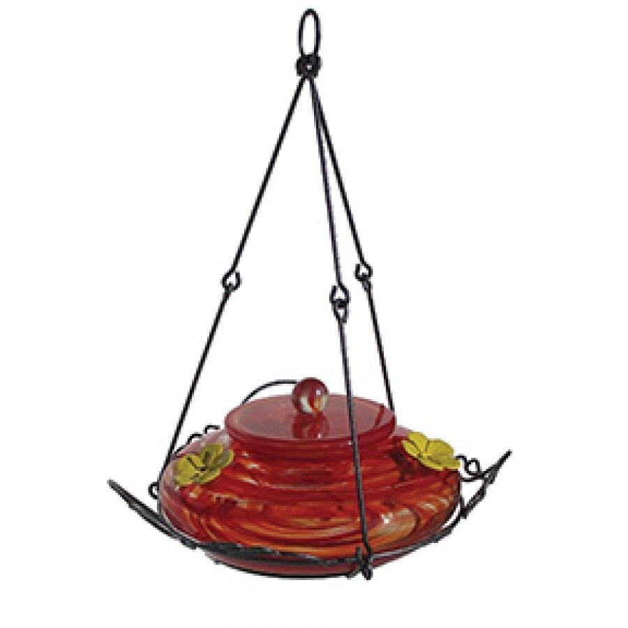 Garden Hummingbird Feeder Red / 36 Oz.
