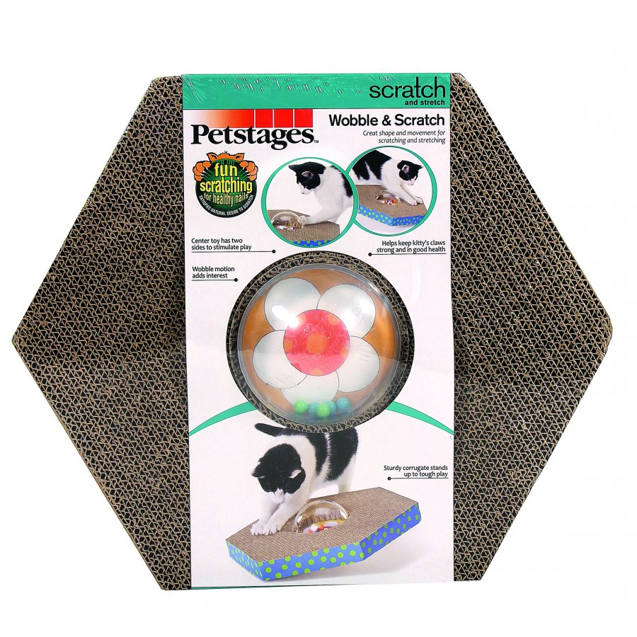 Wobble And Scratch Cat Toy