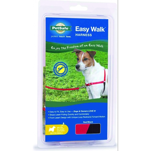 Easy Walk Dog Harness / Size (Petite / Small - Red) Best Price