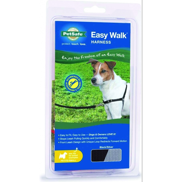 Easy Walk Dog Harness / Size (Petite / Small - Black) Best Price