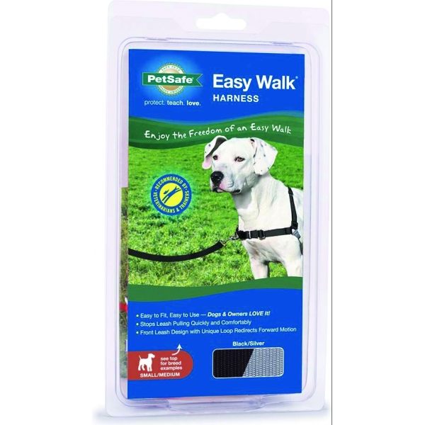 Easy Walk Dog Harness / Size (Small / Medium - Black) Best Price