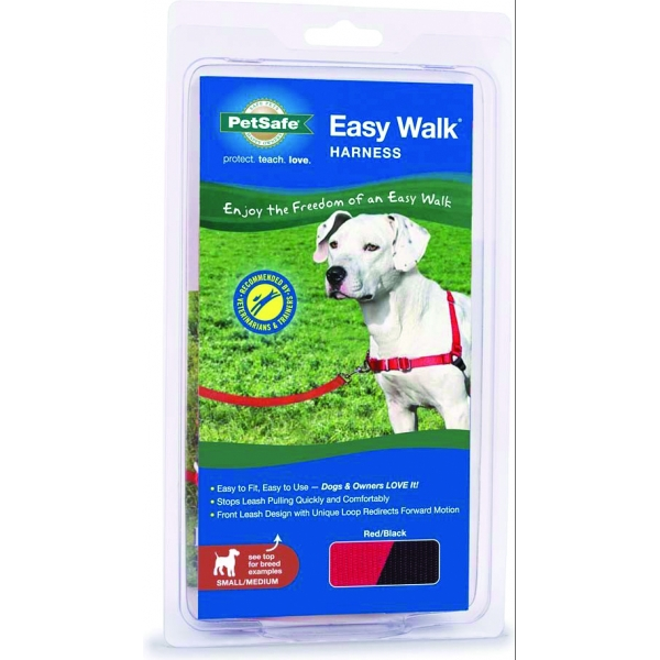 Easy Walk Dog Harness / Size (Small / Medium - Red) Best Price