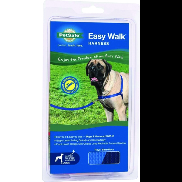 Easy Walk Dog Harness / Size (XLarge - Blue) Best Price