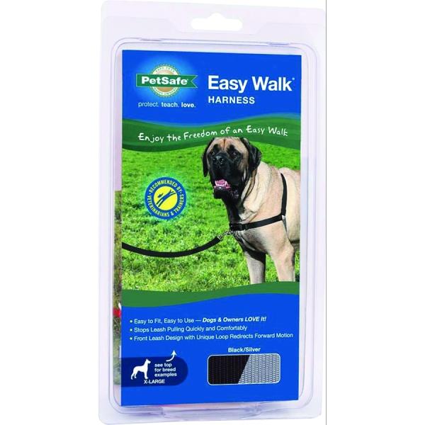 Easy Walk Dog Harness / Size Xlarge Black